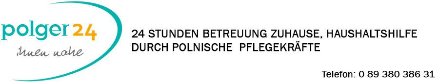 Polger24.eu 24 STUNDEN BETREUUNG ZUHAUSE, HAUSHALTSHILFE DURCH POLNISCHE PFLEGEKRAFTE